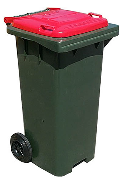 New 120 litre bin just wheelie bins wheelie bins online - Rd rubbish bin ...
