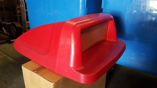 Used 240lt Cabri Lid - Red