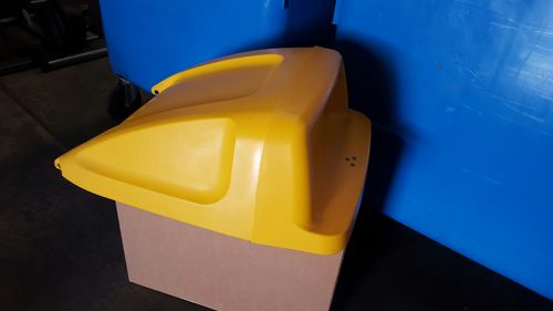 Used 240lt Cabri Lid - Yellow